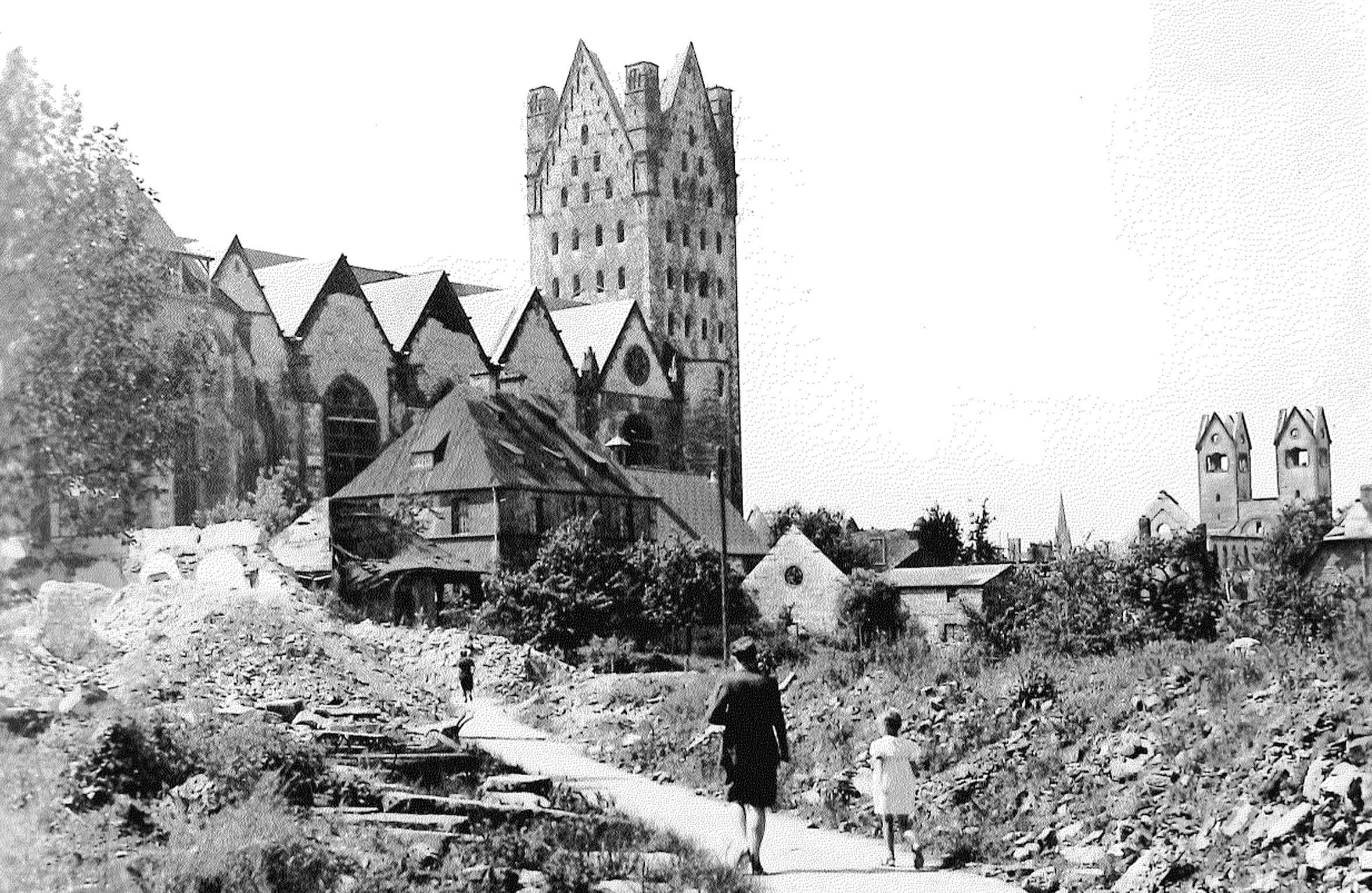 Gedenkgottesdienst: 70  Jahrestag der Zerstörung der Stadt