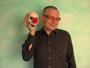 Hat den Tod im Blick: Kabarettist Stepfan Franke am 25. März in der Kulturwerkstatt Paderborn. FOTO: PRIVAT