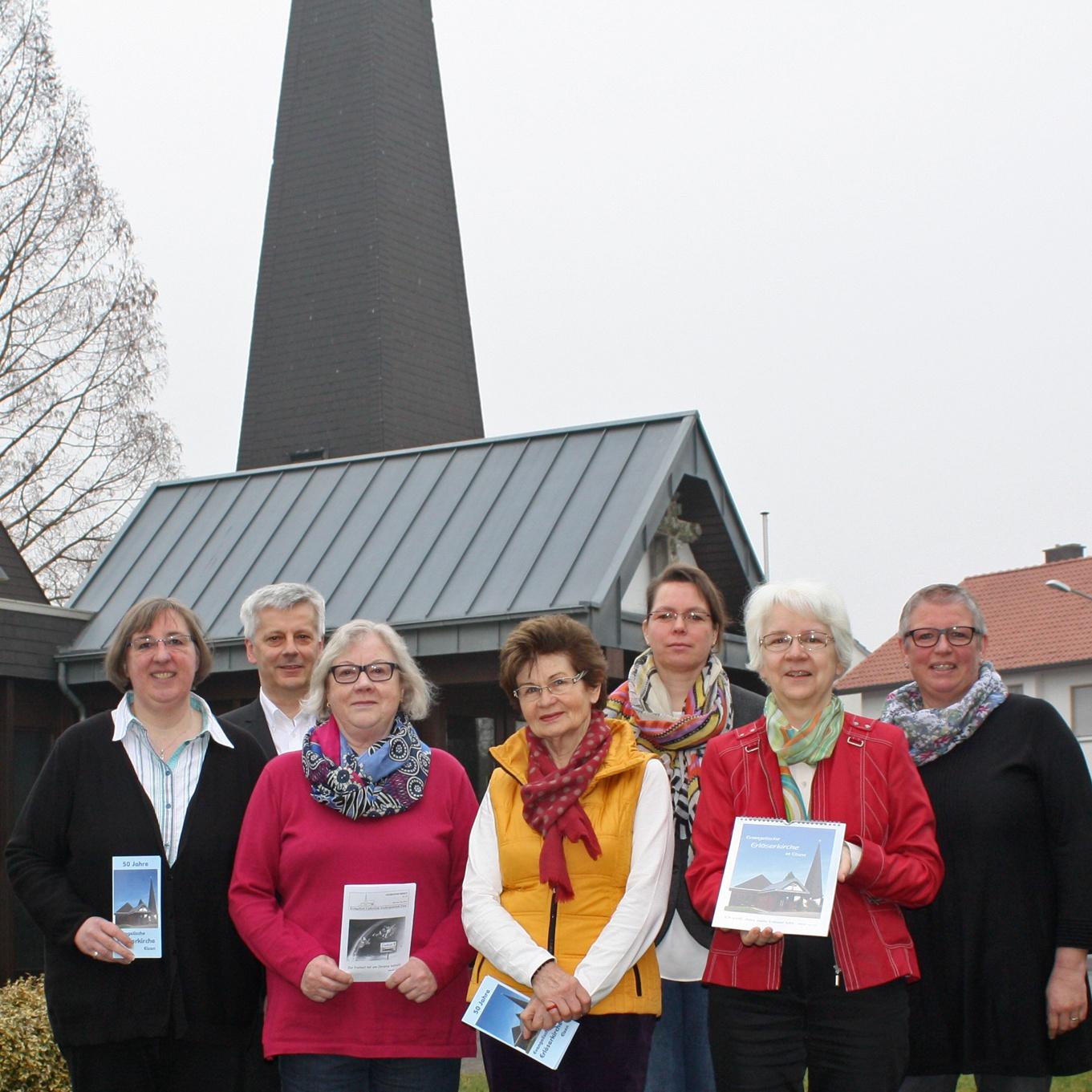 Evangelische Kirchengemeinde feiert mit vielfältigem Programm 50 Jahre Erlöserkirche in Elsen
