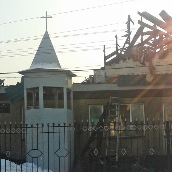 6150 Euro für zerstörte Kirche in Kirgistan Matthäus-Gemeinde und Gustav-Adolf-Werk helfen