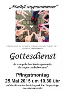 Regionalgottesdienst Paderborn Land Pfingstmontag 2015