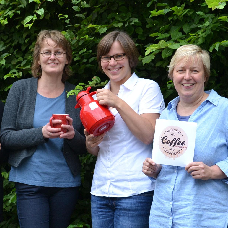 Kaffee teilen als Zeichen der Solidarität Der Runde Tisch Armut ruft zur Teilnahme am Projekt auf