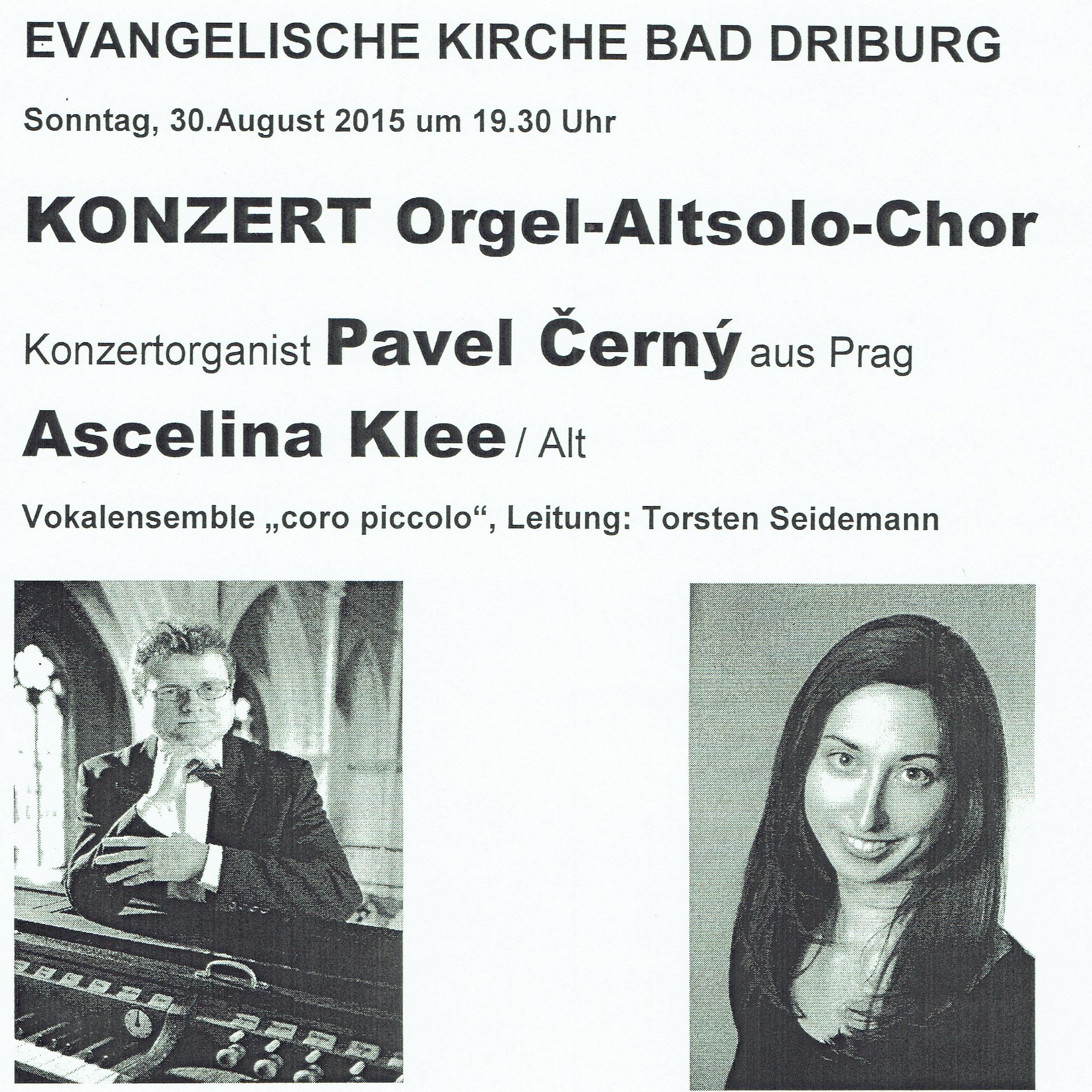 Konzertante Begegnung in Bad Driburg