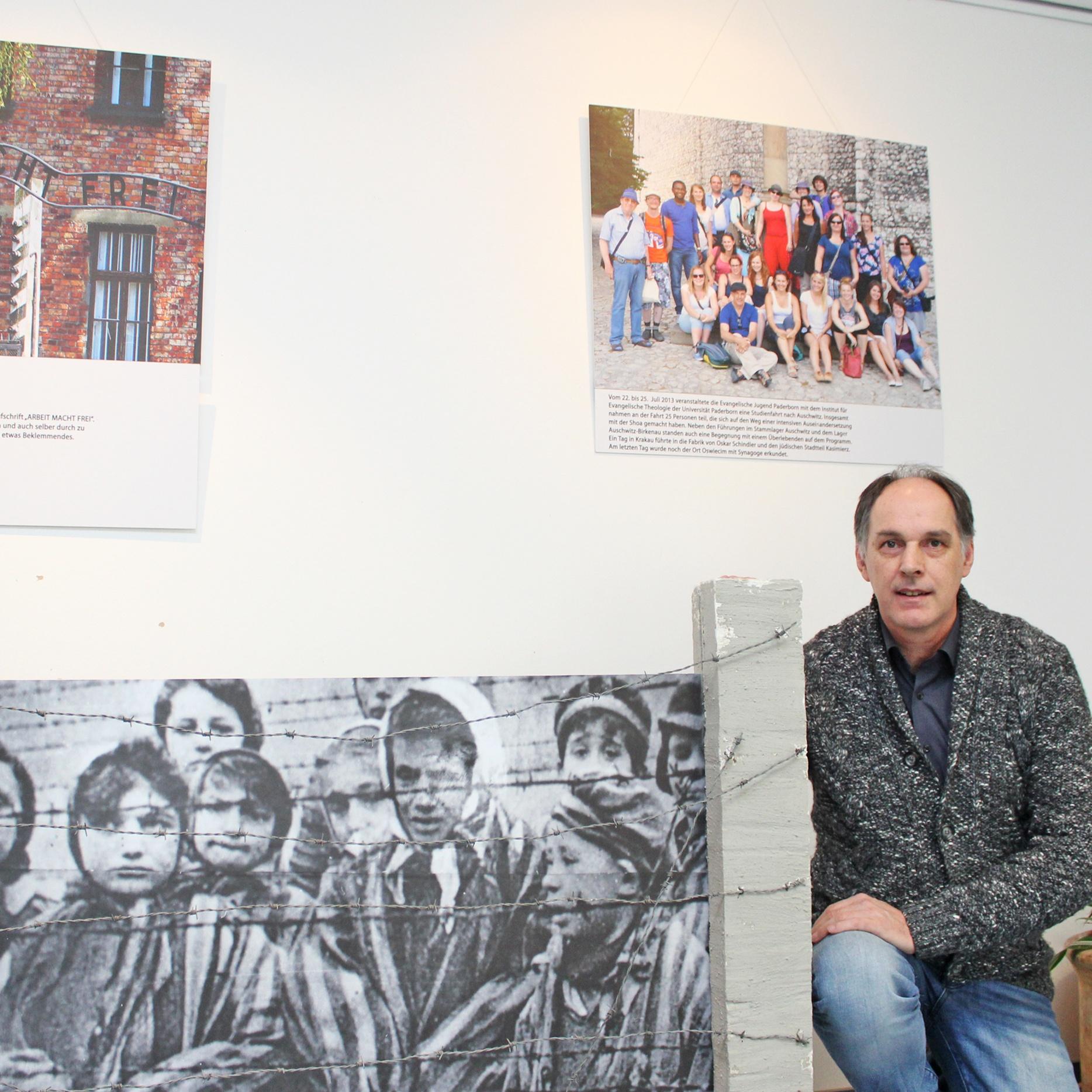Internationale Wochen gegen Rassismus: Ausstellung über Ausschwitz im Haus der Evangelischen Kirche
