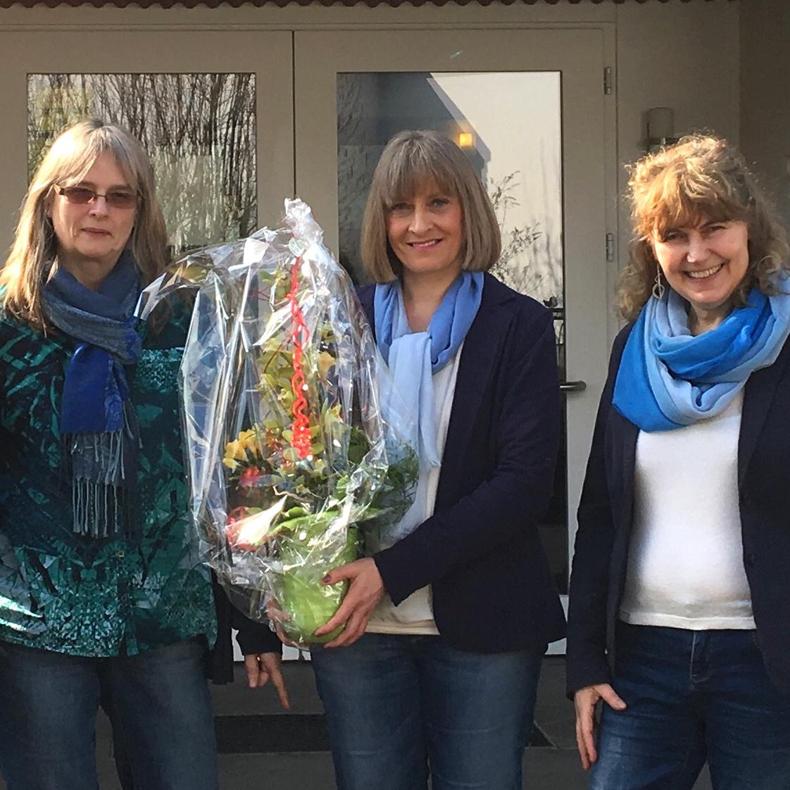 25 Jahre in der Arche: Dienstjubiläum von Silke Meering