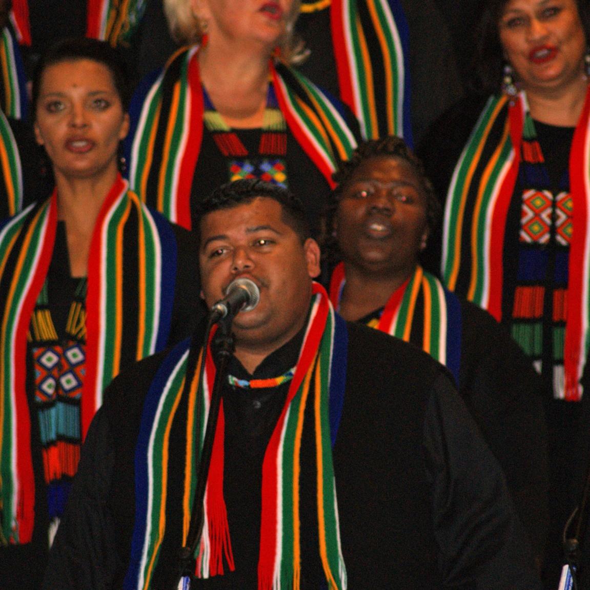 Konzert in der Marienkirche Höxter Libertas-Chor aus Südafrika begeisterte Besucher