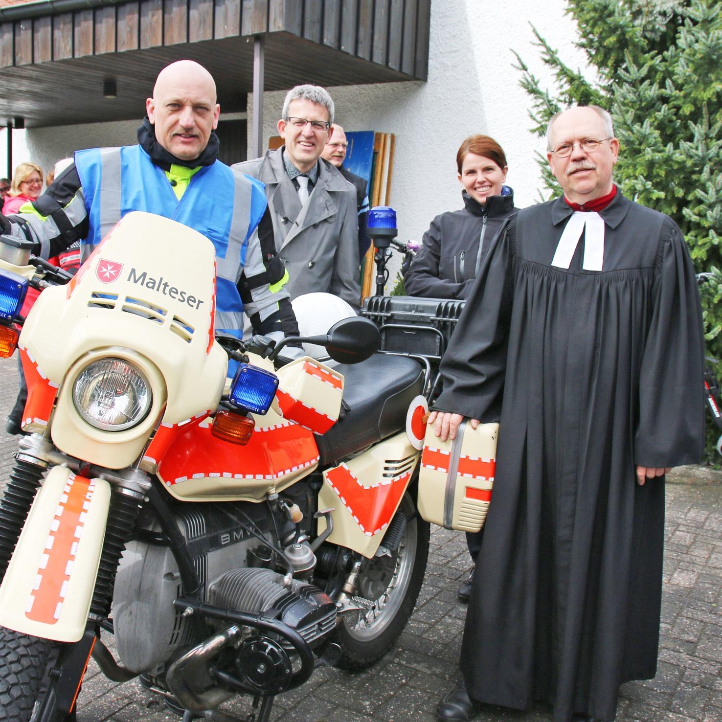 Motorradgottesdienst 2016