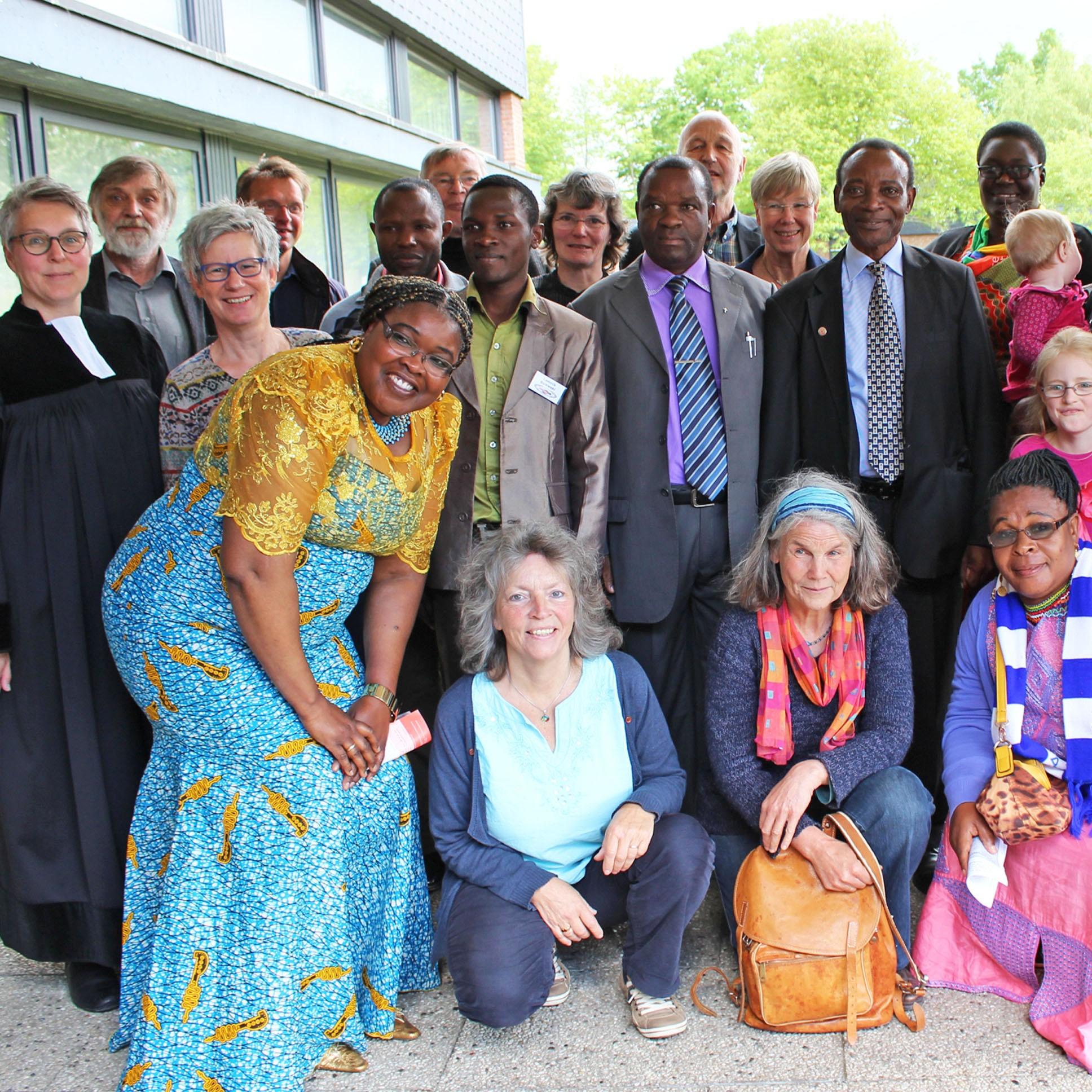 Pfingstwunder in der Johanneskirche POSITIVES FAZIT Bildungsreise der Kirchenkreis-Partner aus Tansania
