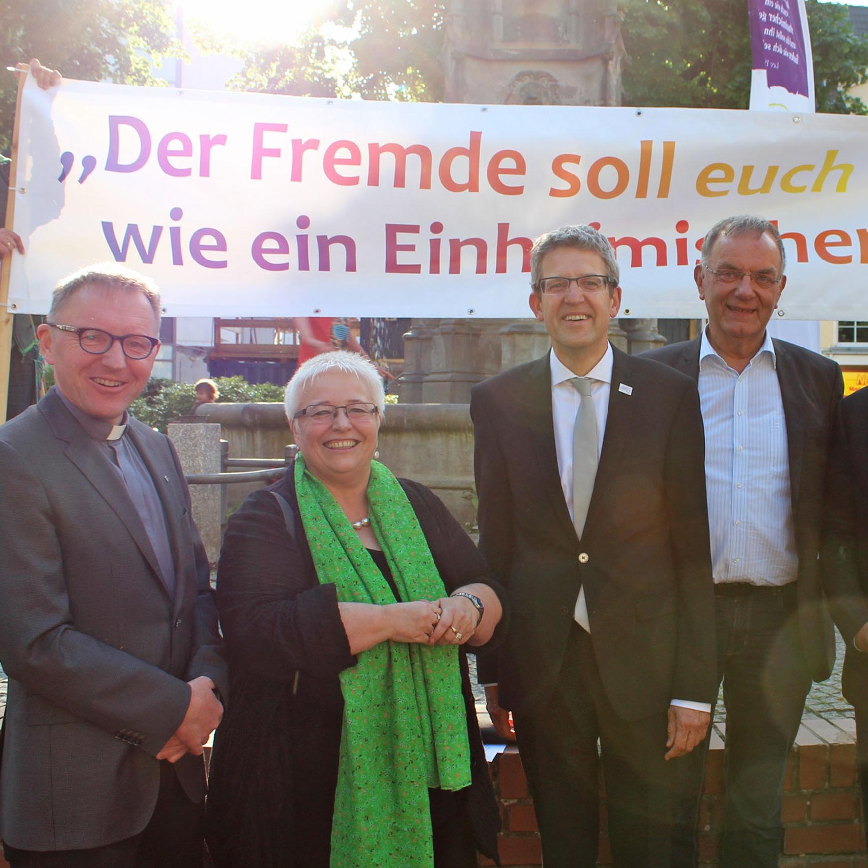 Religion gehört zu Deutschland Für Religionsfreiheit, Demokratie und Nächstenliebe