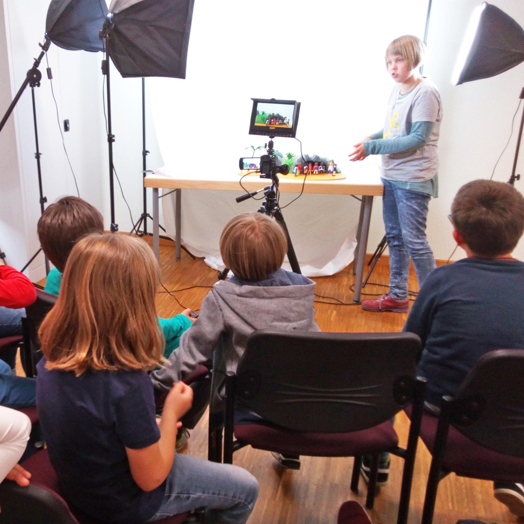 Erste Kindertrickfilmtage in Hövelhof Kinder lassen Bibelgeschichten lebendig werden