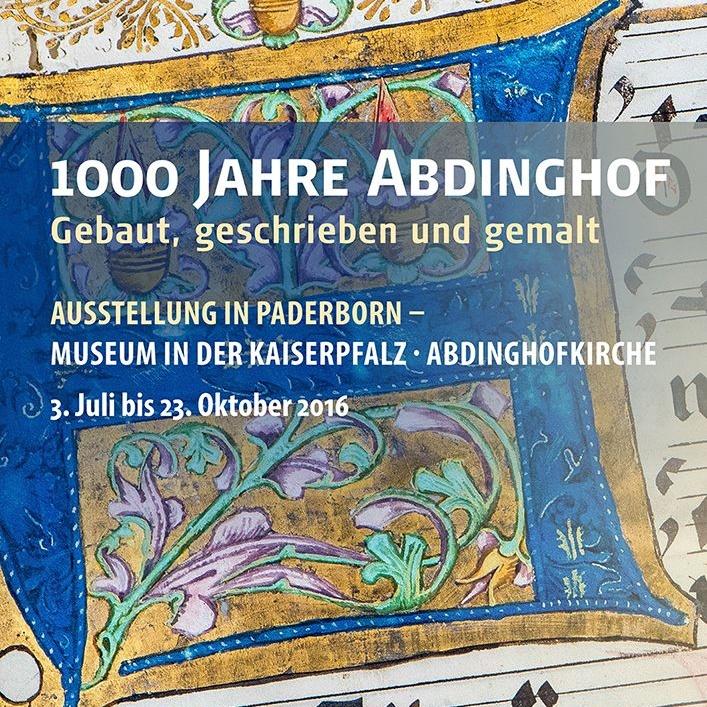 """Sonderausstellung über Vergangenheit und Gegenwart eines besonderen Klosters """"1000 Jahre Abdinghof"""" bis 23. Oktober"""