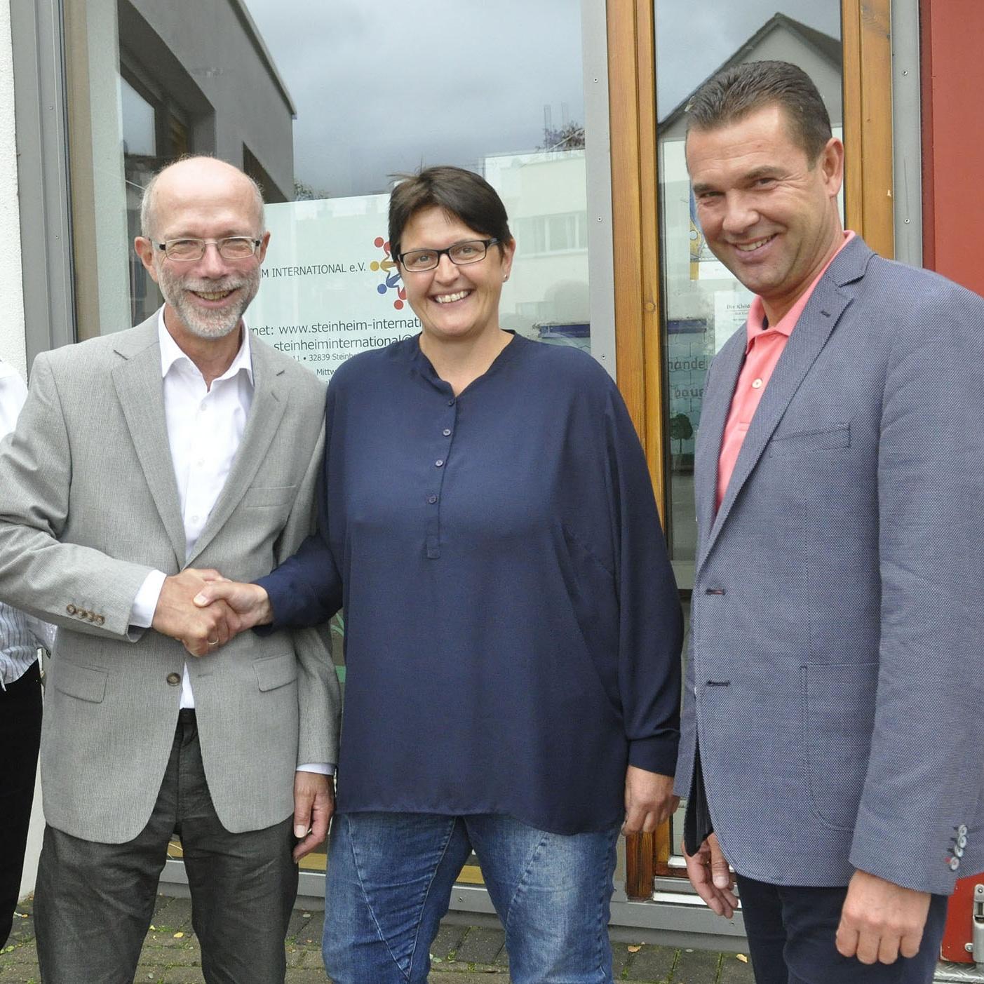 Ulrike Czorny stärkt in Steinheim die Flüchtlingsarbeit Kirchen arbeiten eng zusammen