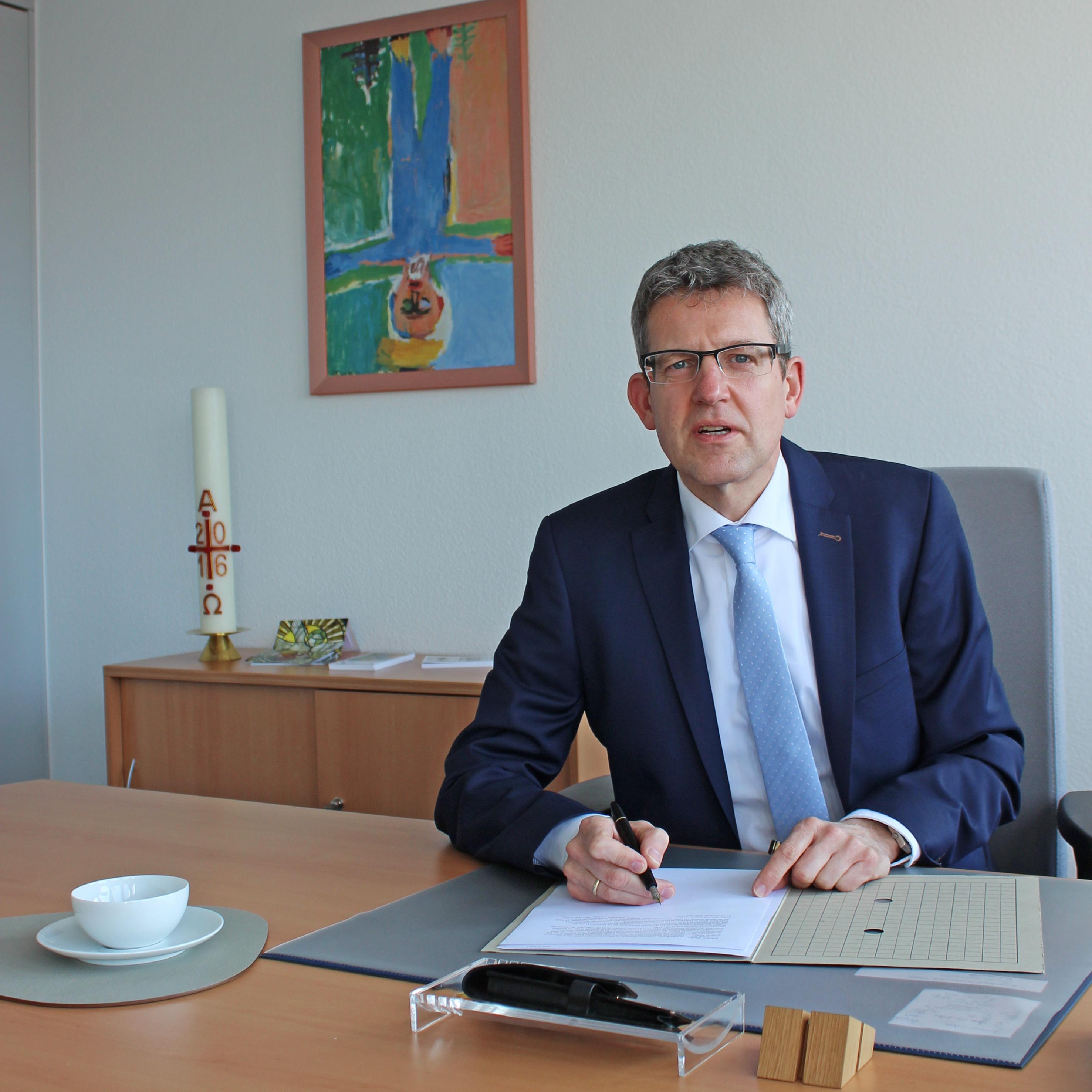 """Im GlaubensGarten am 10. Oktober """"Religion nachgefragt"""" mit Superintendent Volker Neuhoff"""