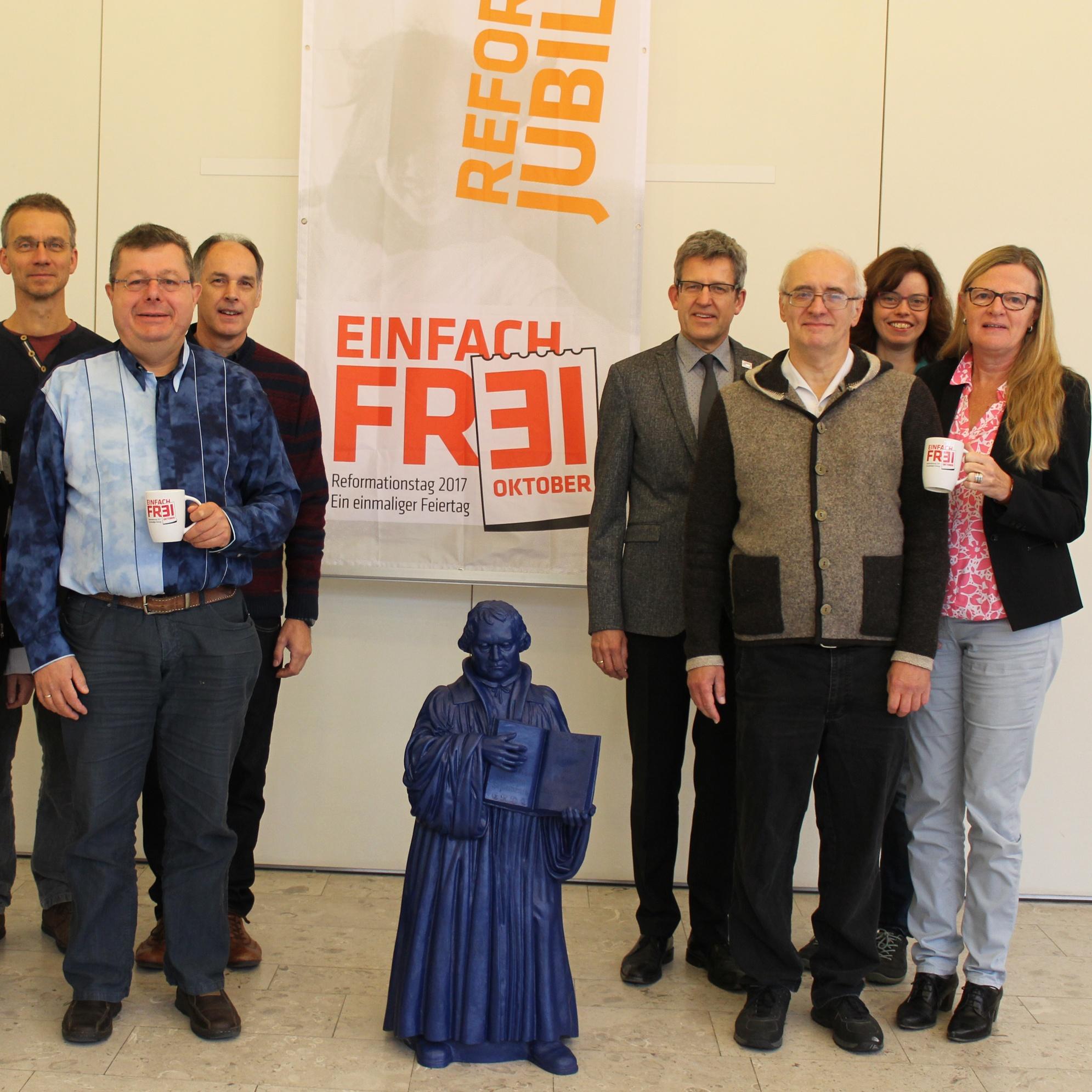 EINFACH FR3I: Höhepunkt der Kampagne ist der 31. Oktober 2017 Kirchenkreis und Gemeinden feiern 500 Jahre Reformation