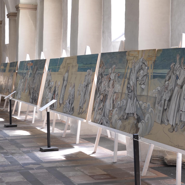 Führung zum Abschluss der Ausstellung 1000 Jahre Abdinghof