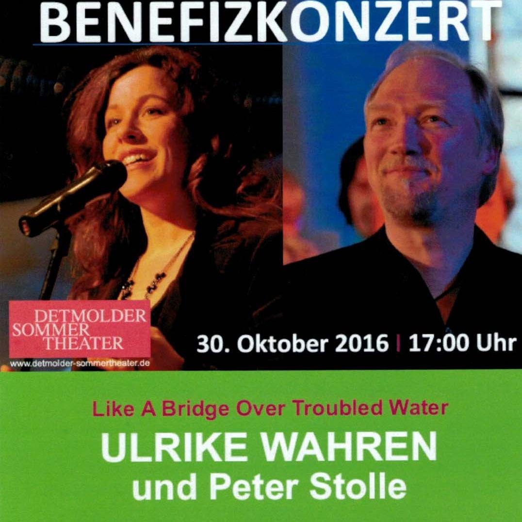 Benefizkonzert für GlaubensGarten ULRIKE WAHREN und Peter Stolle: Like A Bridge Over Troubled Water