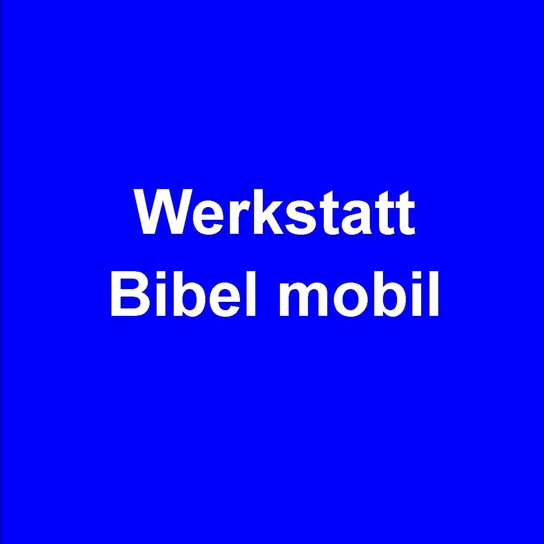 Wanderausstellung des Amtes für missionarische Dienste Werkstatt Bibel mobil