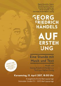"""""""Georg Friedrich Händels Auferstehung"""""""