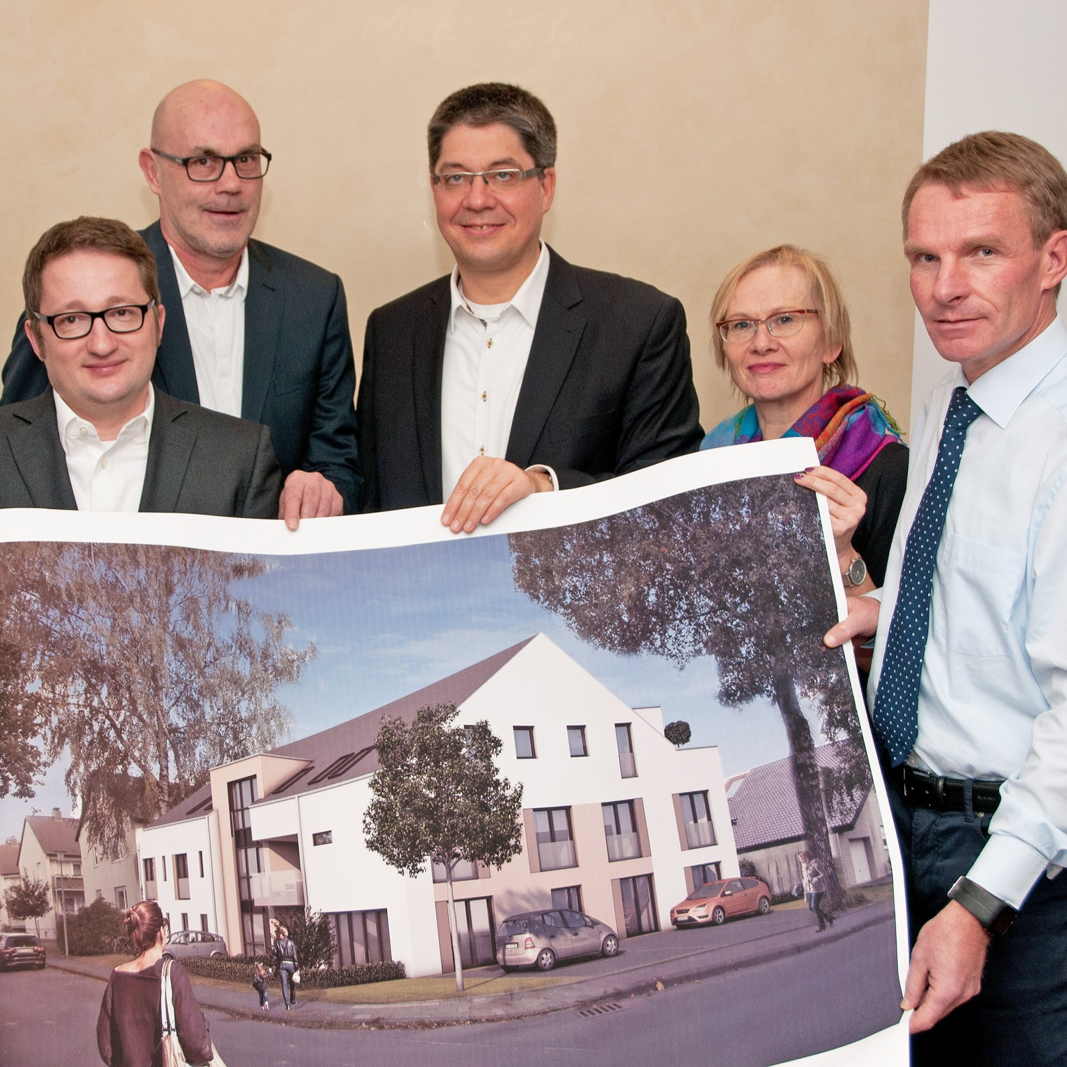 Spar- und Bauverein investiert 2,5 Mio. Euro KOOPERATIONSPROJEKT mit Diakovita GmbH