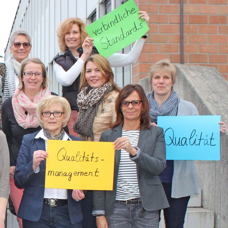 Qualitätsmanagement in evangelischen Kindertageseinrichtungen Zwei Schulungen setzten den Prozess fort
