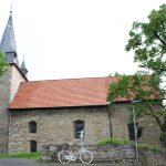 Mit einem Gottesdienst in der evangelischen Kirche in Warburg-Herlinghausen begann die ganztätige Kreissynode. Die Kirche wurde um 1250 im frühgotischen Stil erbaut. FOTO: EKP/HEIDE WELSLAU