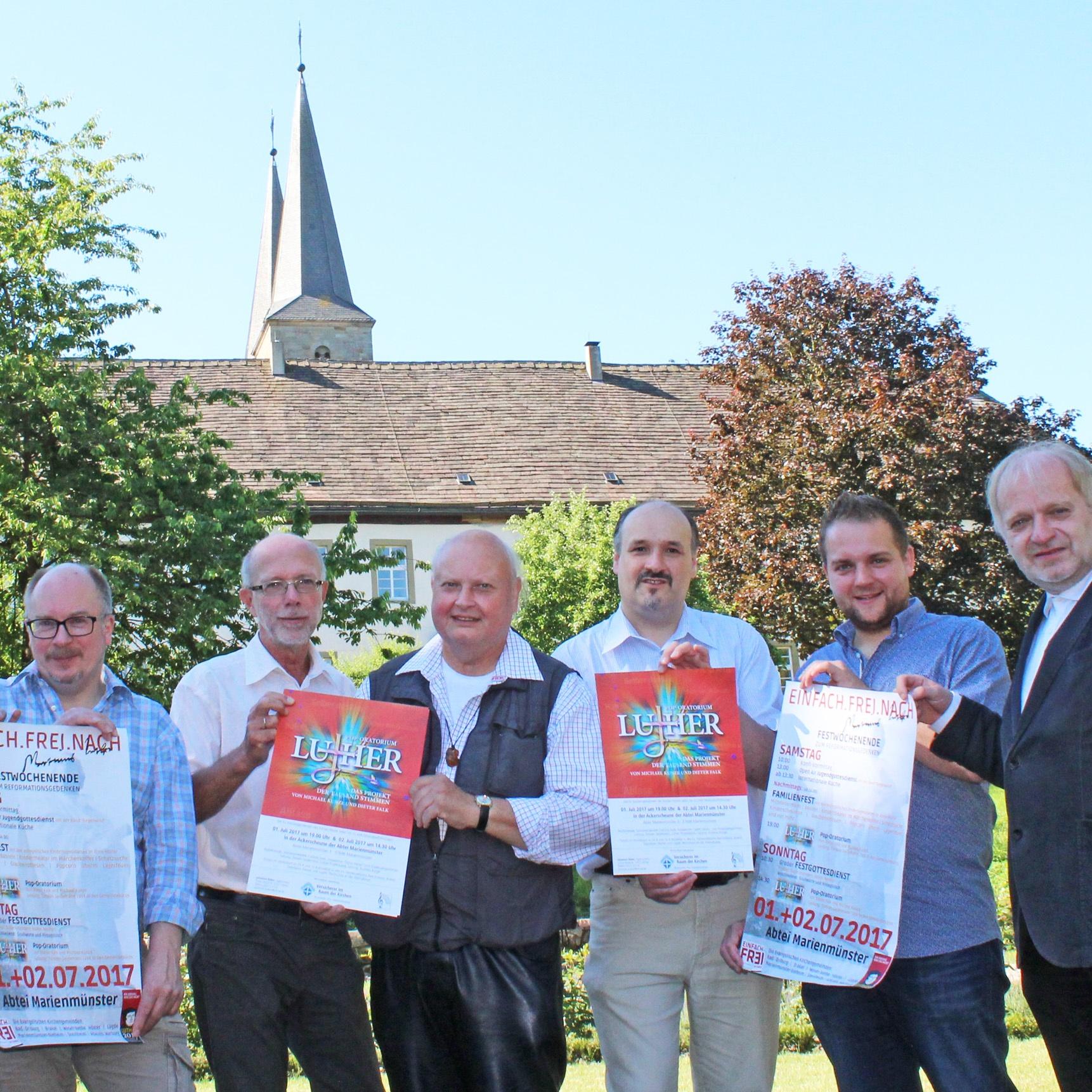 """Pop-Oratorium """"Luther"""", Gottesdienste, Familienfest und Konfirmanden-Tag Beim Luther-Fest dem Reformator vielfältig begegnen"""
