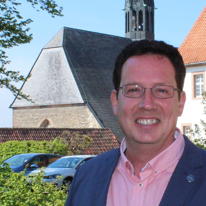 Pfarrer Kai-Uwe Schroeter, Evangelische Kirchengemeinde Altkreis Warburg. Foto: EKP/Oliver Claes