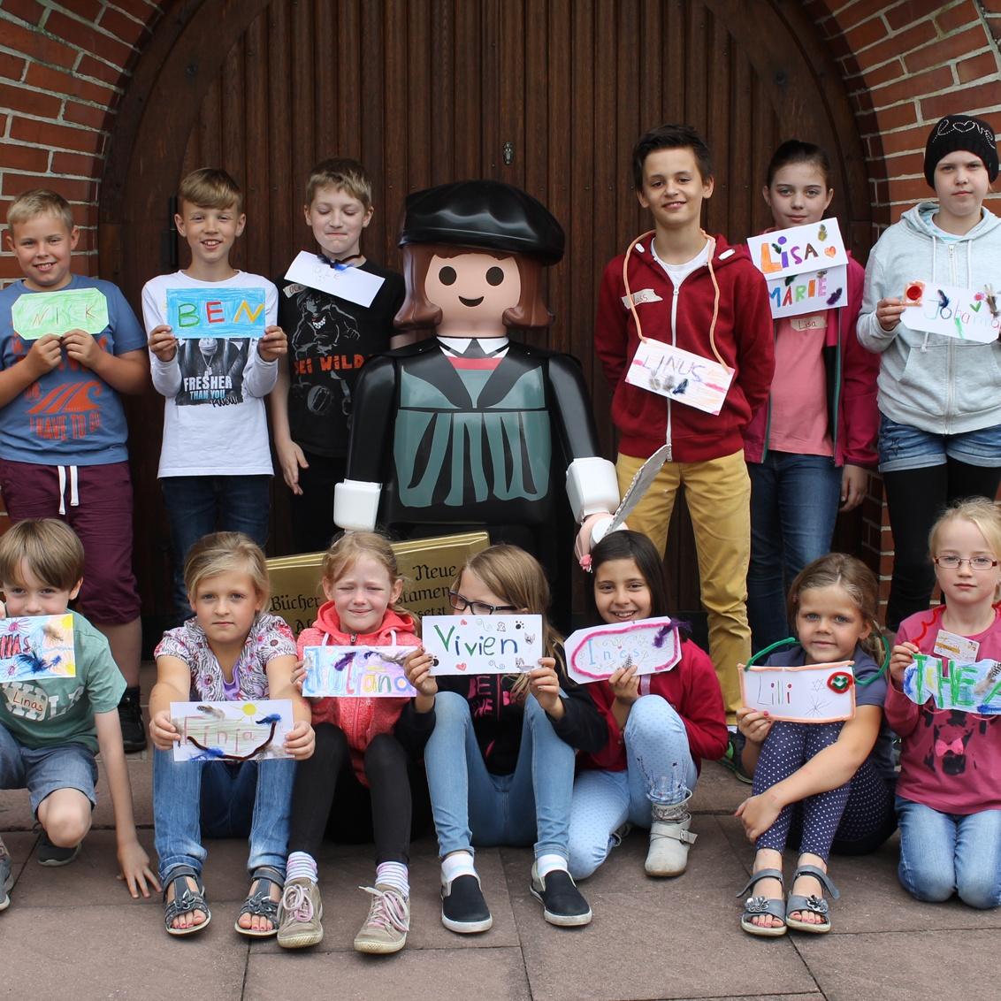 Zweite Kindertrickfilmtage in Hövelhof Kinder lassen die Geschichte von Martin Luther lebendig werden