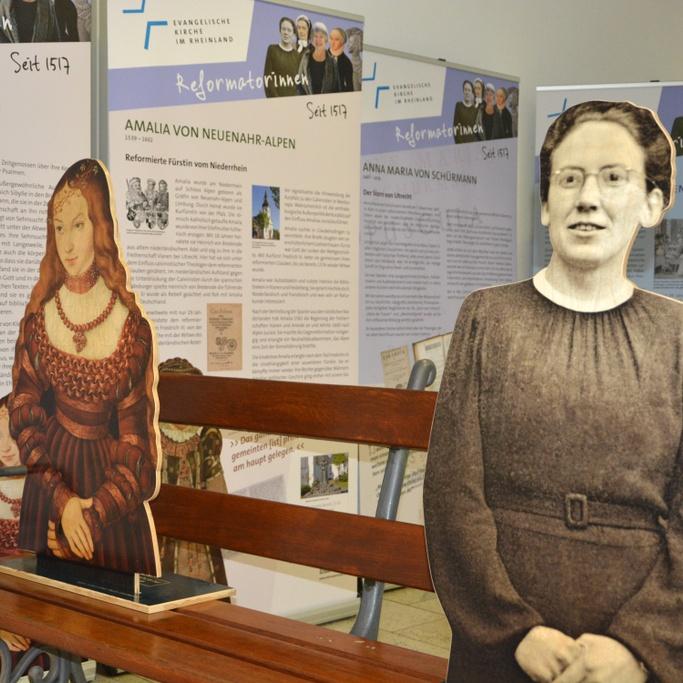 """Wanderausstellung """"Reformatorinnen. Seit 1517."""" auf Landesgartenschau REFORMATIONSJAHR GlaubensGarten nimmt bedeutende Frauen in den Blick"""