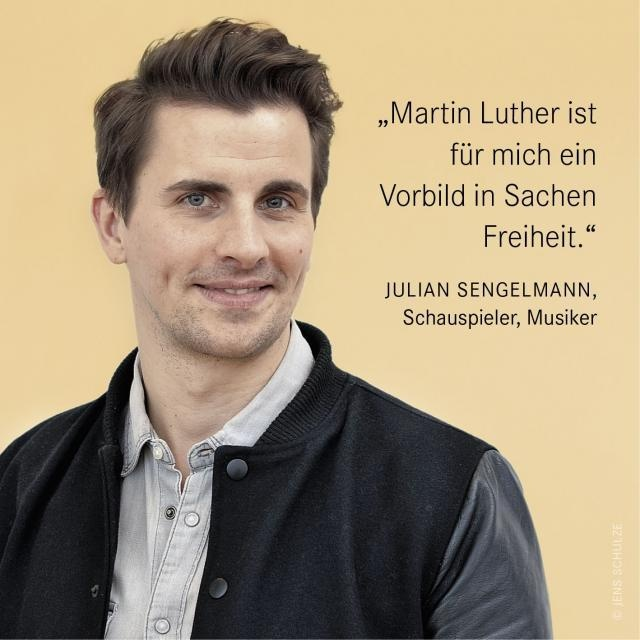 Reformationsjubiläum 2017 Reformationsbotschafter Julian Sengelmann im Interview