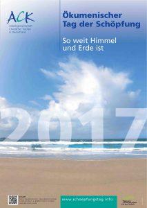 """""""So weit Himmel und Erde ist"""" (Ps 148,13, Lutherübersetzung) lautet das Motto des diesjährigen ökumenischen Schöpfungstages, der am 9. September 2017 im GlaubensGarten auf der Landesgartenschau in Bad Lippspringe gefeiert wird. Copyright: ACK in Deutschland"""