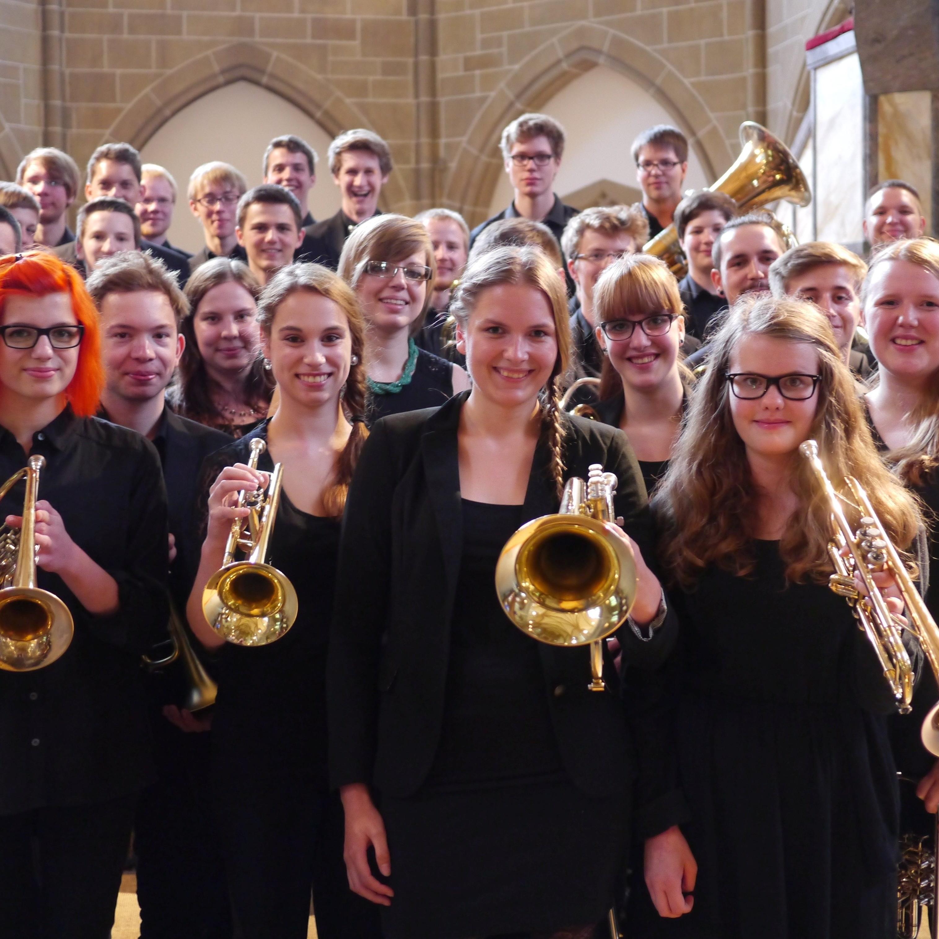 Mit dem Landesjugendposaunenchor Bläsermusik zur Reformation am Abdinghof