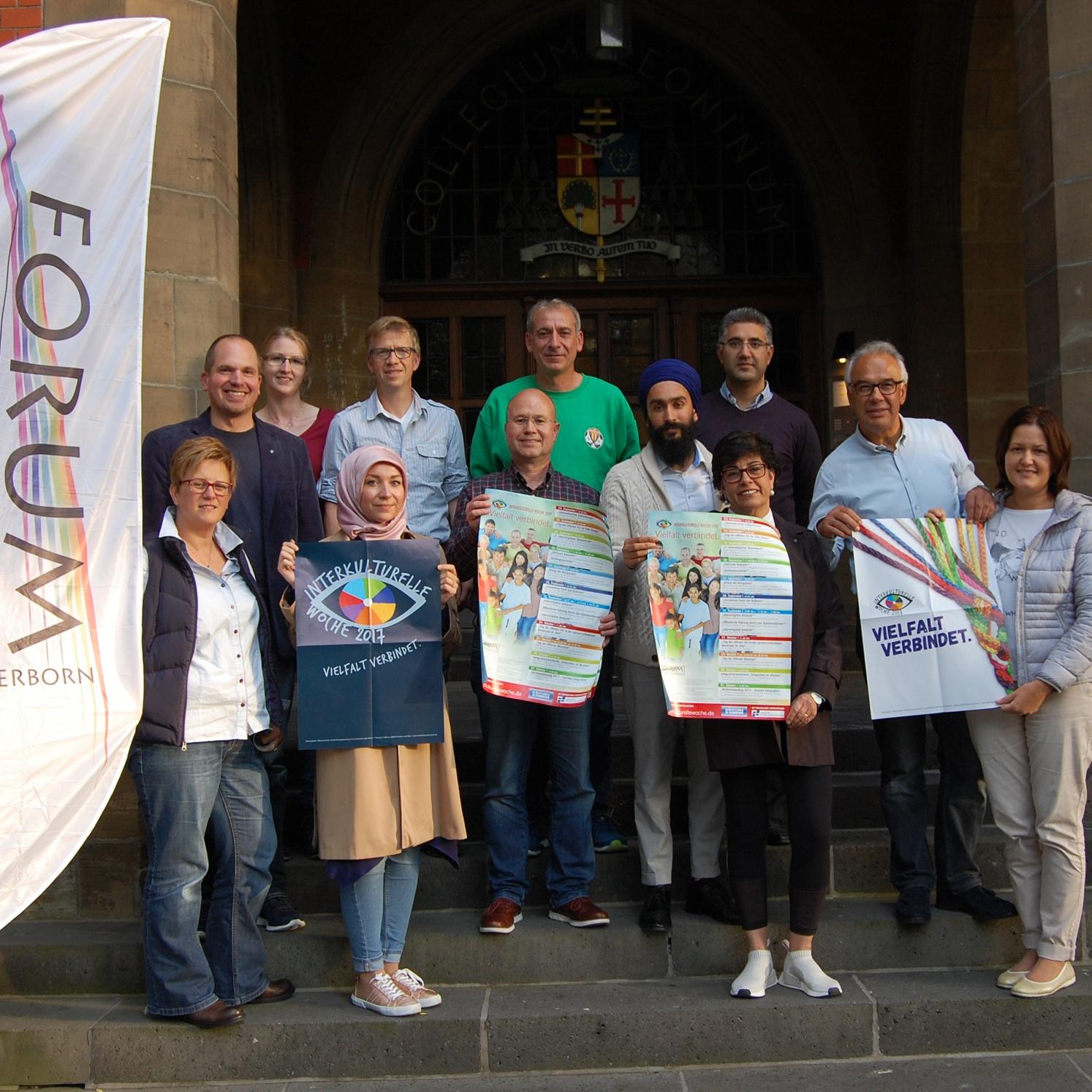 Interkulturelle Woche vom 23. September bis 7. Oktober Forum der Religionen Paderborn: Vielfalt verbindet