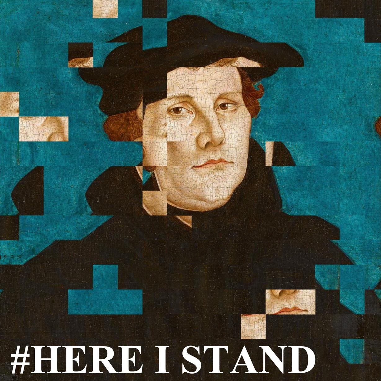 Eröffnung am 16. Oktober mit Eugen Drewermann Luther-Ausstellung #HERE I STAND in Salzkotten