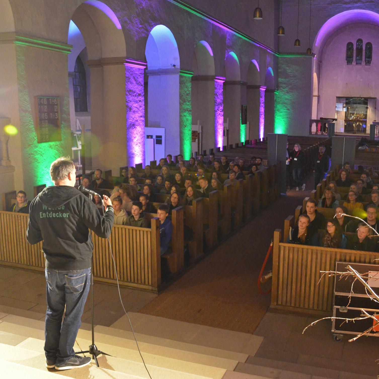 Eine unvergessliche lange Nacht zur Reformation ChurchNight in der Abdinghofkirche