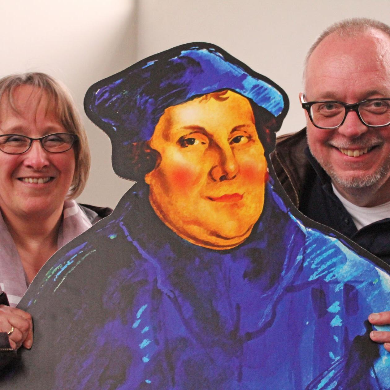 Laiendarsteller bringen Luthers Leben auf die Bühne Luther – Das Musical