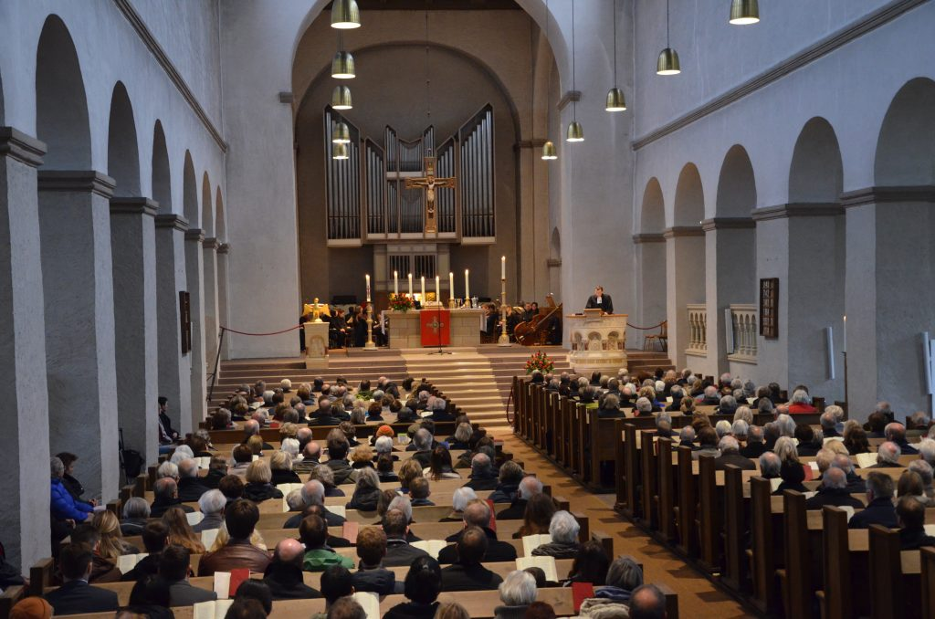Reformationsfest in der Abdinghofkirche Paderborn. Foto: Andreas Paffrath