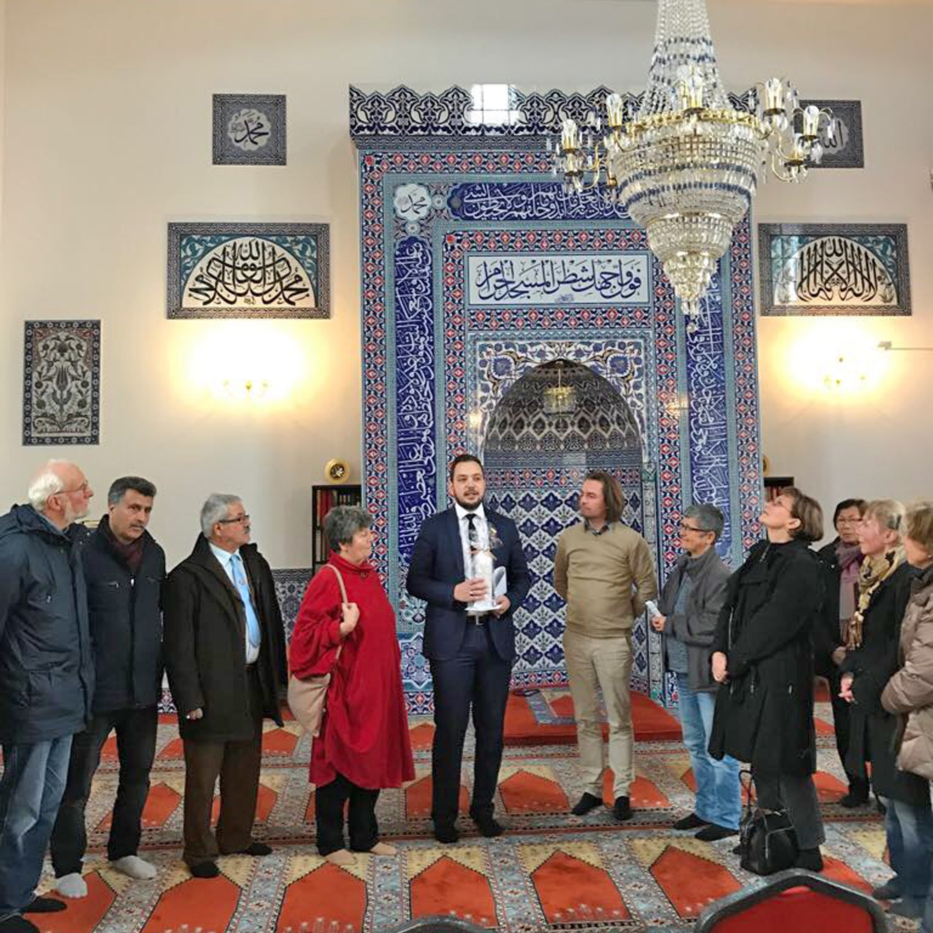 Runder Tisch Religion Höxter vor Ort und unterwegs Interreligiöse Begegnung in Münster