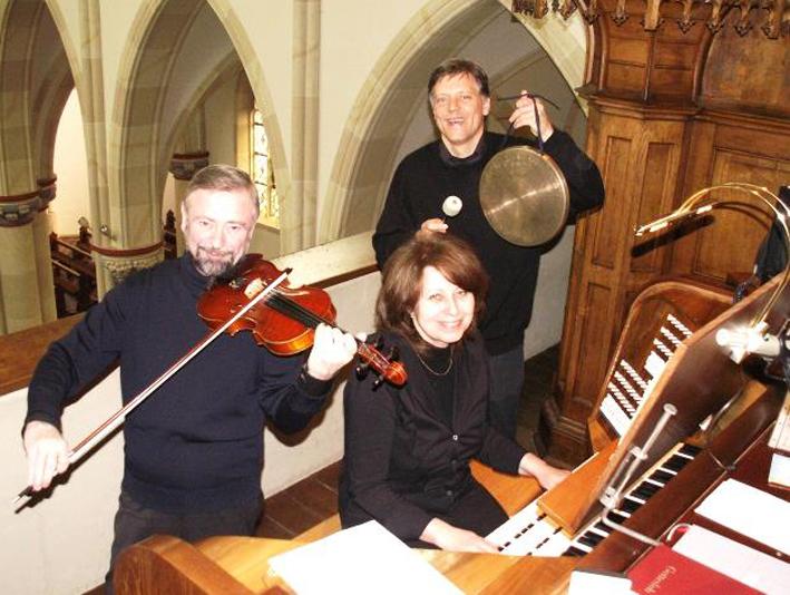 Das tamigu-Trio kommt in die evangelische Kirche Salzkotten.