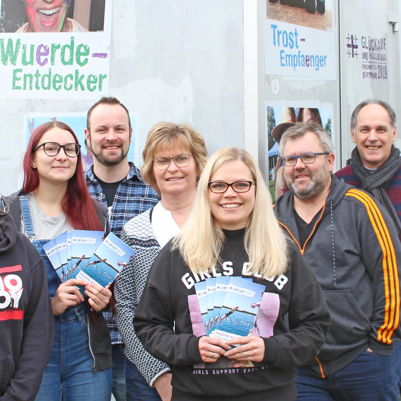 Jahresprogramm 2018 der Evangelischen Jugend Freizeiten, Teamer-Schulungen, Workshops gegen Rechts…