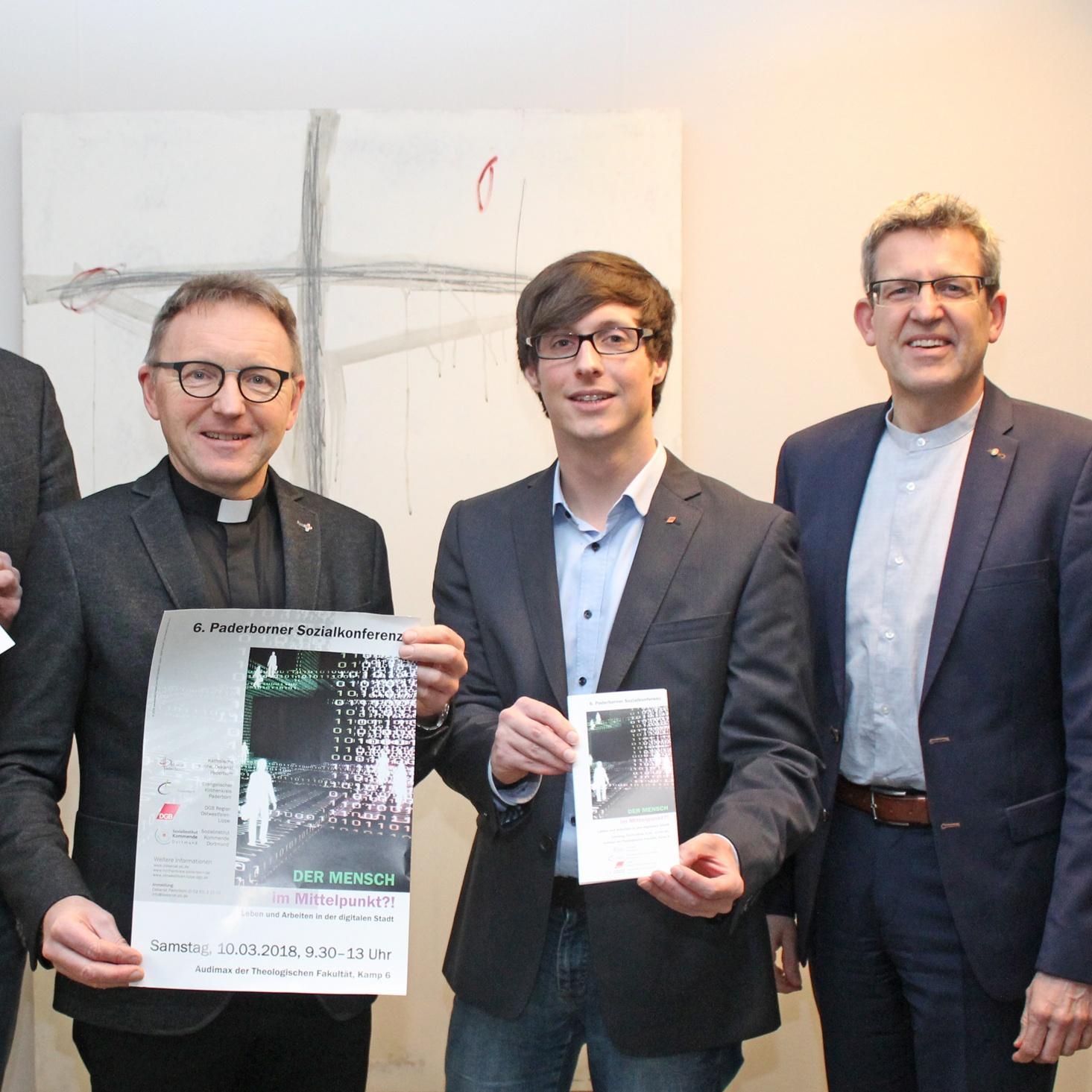 Kirchen und DGB laden zur 6. Sozialkonferenz Der Mensch im Mittelpunkt?! – Leben und Arbeiten in der digitalen Stadt