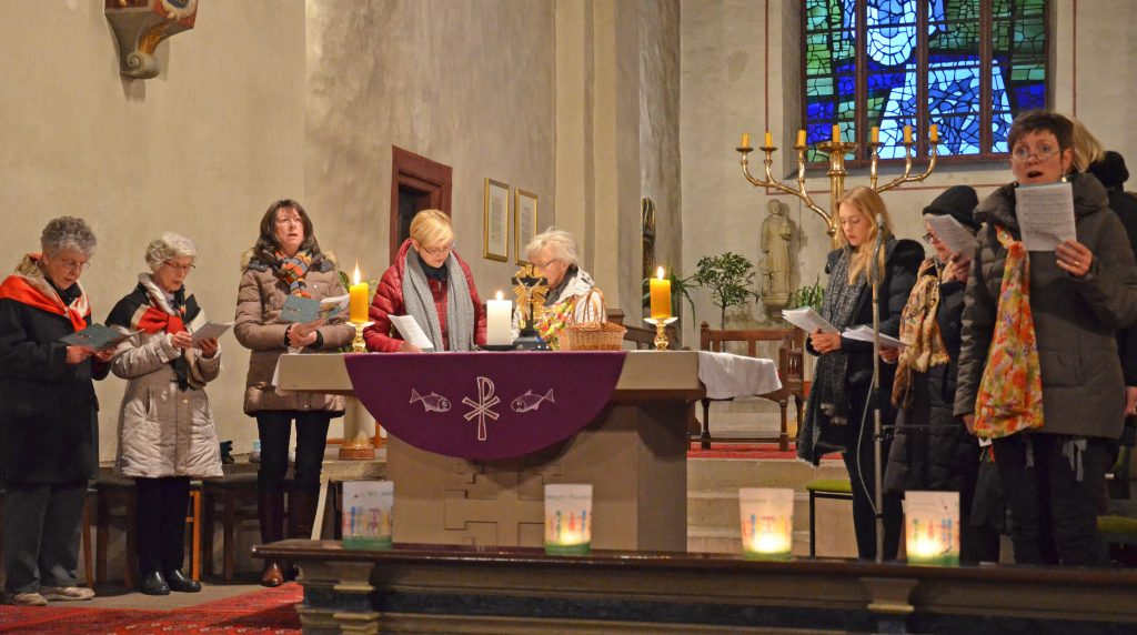 Weltgebetstag der Frauen in der Busdorfkirche Paderborn. Foto: Eckhard Düker