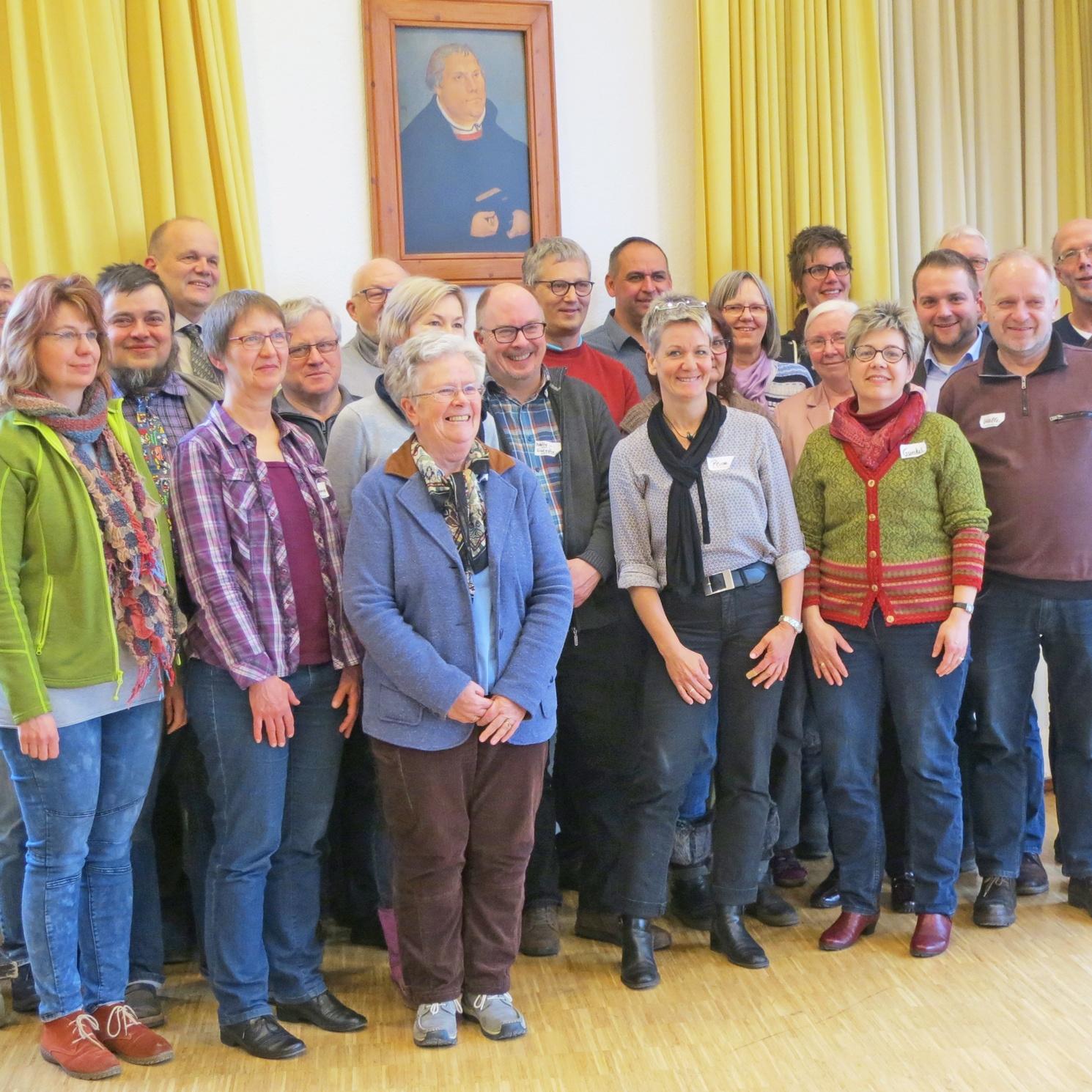 Kirche zukunftsfest gestalten Vier Gemeinden finden zusammen