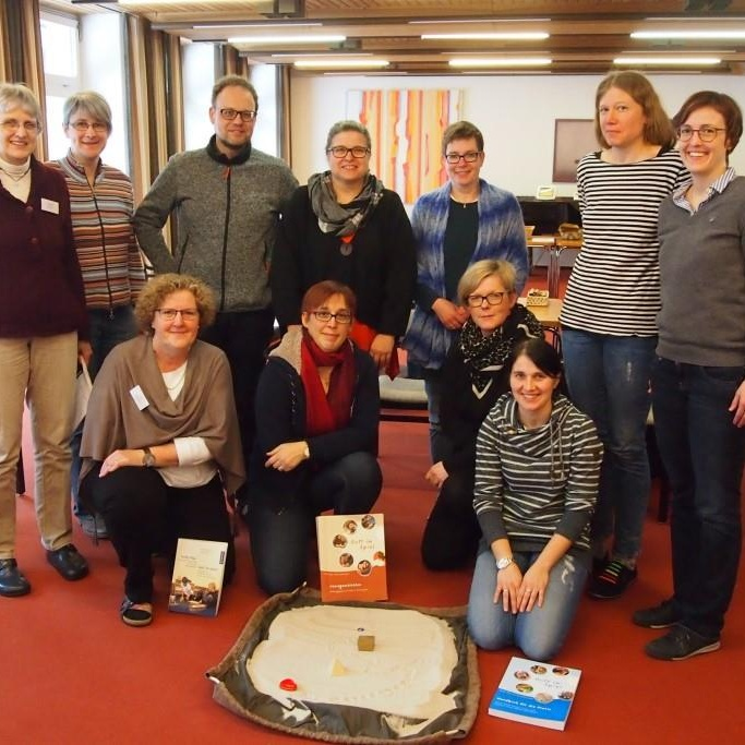 (2) Die Teilnehmer am Godly Play-Vertiefungskurs, Hegge 2018
