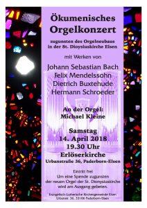 Ökumenisches Orgelkonzert