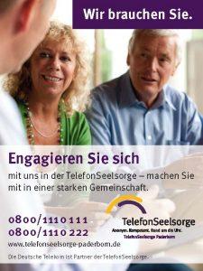 Anzeige Telefonseelsorge