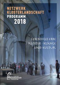 Ist erschienen: Das Programmheft 2018 der Klosterlandschaft OWL. FOTO: KLOSTERLANDSCHAFT