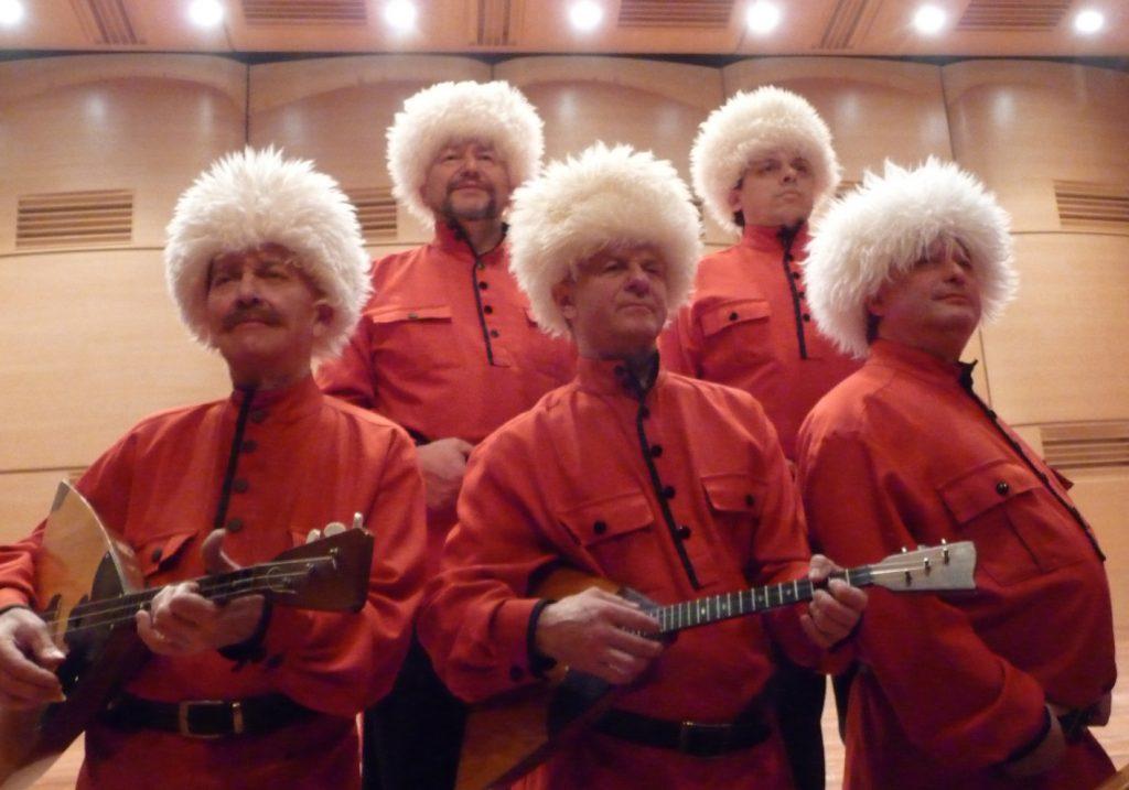 Die Wolga-Kosaken treten in der evangelischen Kirche Bad Driburg auf. Foto: Privat
