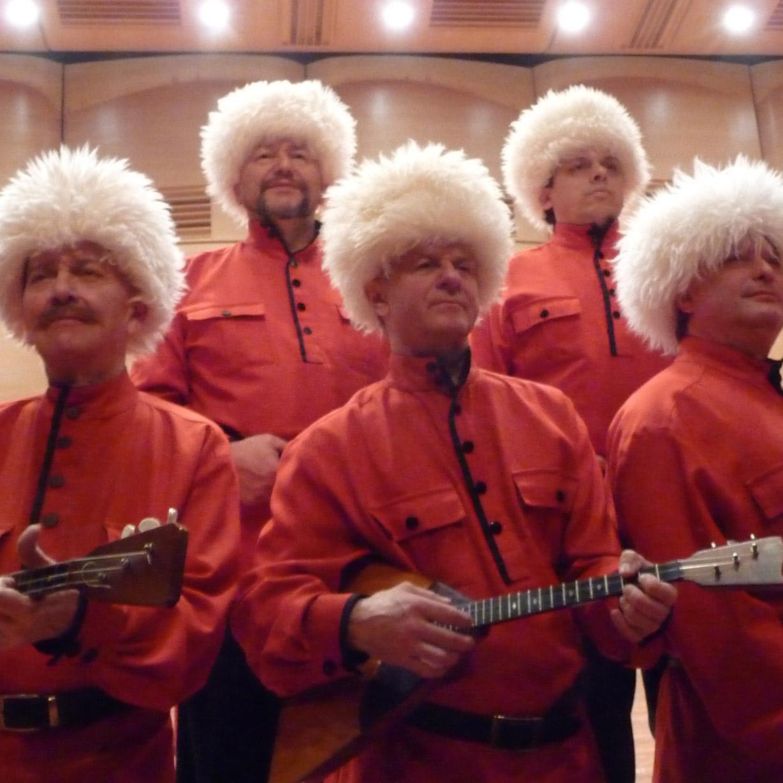 Am 13. Mai in Bad Driburg Konzert mit den Wolga-Kosaken