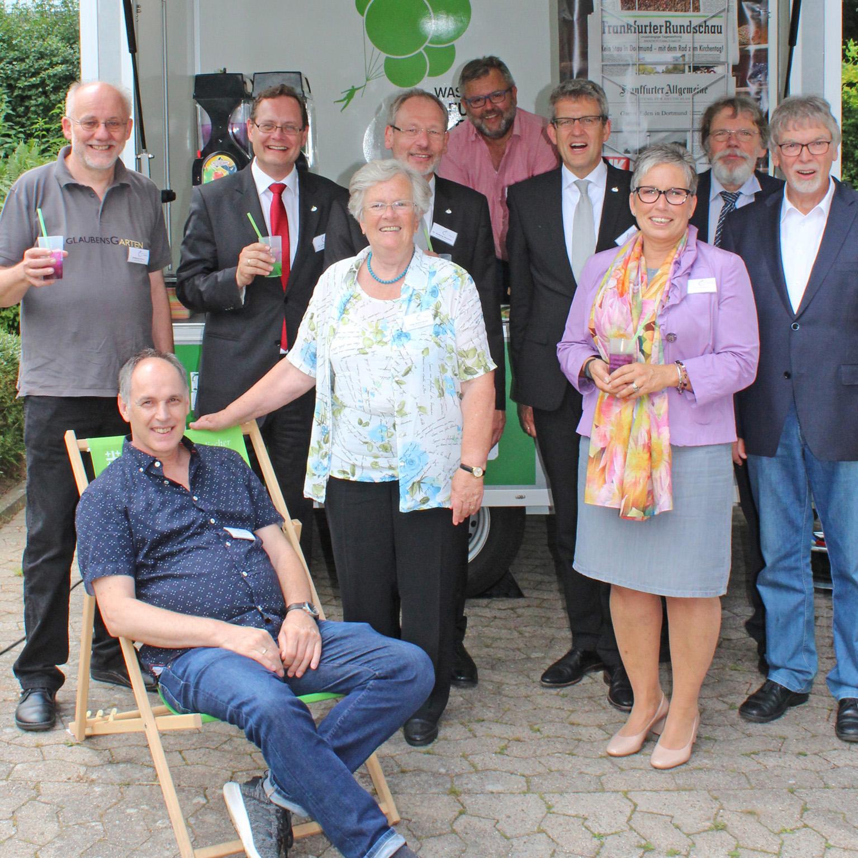 Kreissynode: Synodale des Kirchenkreises Paderborn tagten in Amelunxen Aufbrechen und Gewohntes zurücklassen